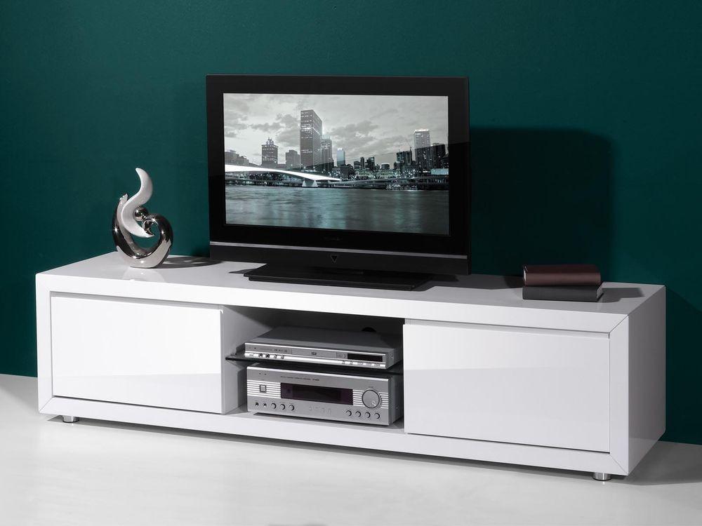 Meuble Tv Bel Air Coloris Noir 1