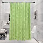 Rideau de douche simple vert – Le Marché du Rideau