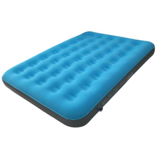 Matelas gonflable – PVC – Bleu – Accessoires de camping | La Foir …