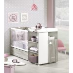 Lit bébé combiné 120x60 cm évolutif en 90x190 cm HAPPY - Lit Bébé Auchan:  (Maison): Auchan Lit bébé combiné 120x60 cm évolutif en 90x190 cm HAPPY Lit  bébé ...