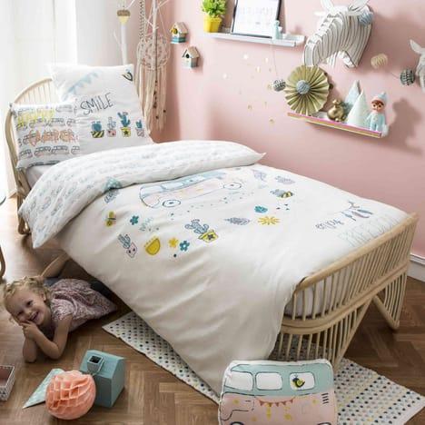 Parure De Lit Enfant Happysummer 140x200 Pas Cher A Prix Auchan