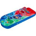 PYJAMASQUE Lit junior ReadyBed - lit gonflable pour enfants avec sac de  couchage intégré(Rouge