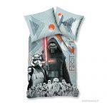 ... d'oreiller 63x63cm réversible Gris/Orange - B01N4SEDFC · Parure Housse  de couette Star Wars Fighter First Order 100% coton 140x200cm + 1 taie