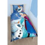 Parure De Lit La Reine Des Neiges Disney Frozen * Housse De Couette 140x200  Cm +