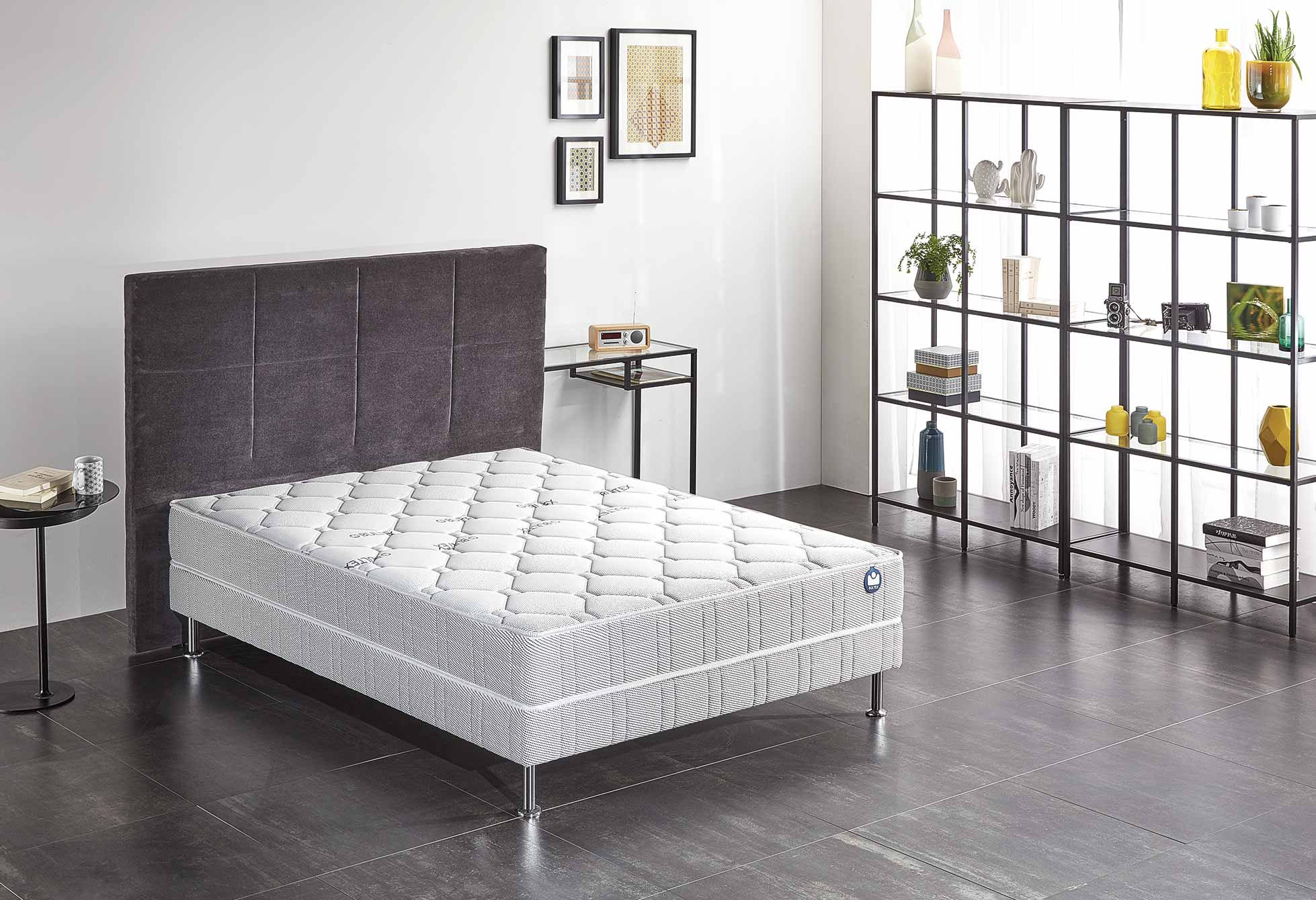 ... Matelas Mousse Bultex SILVERY 90x190 (1 pers) ...