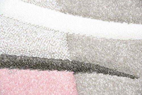 Salon Designer Tapis contemporain Tapis moquette avec des couleurs ...