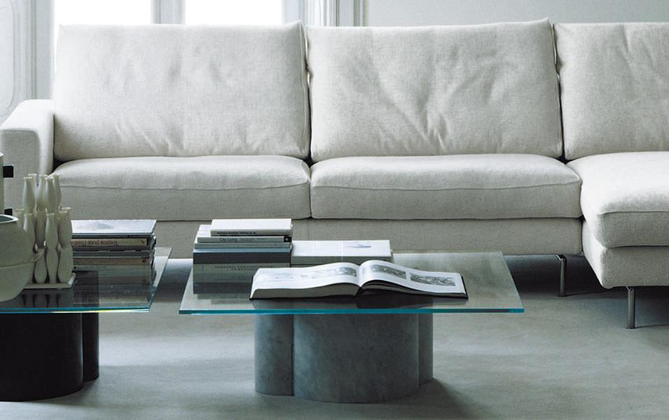 Table basse contemporaine / en verre / rectangulaire / par Arik Levy …