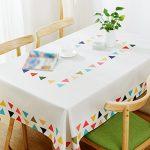 ZWL Table basse Manteau Tissu Linge de lit Tissu de table Nappe  Rectangulaire Enfant Petite table