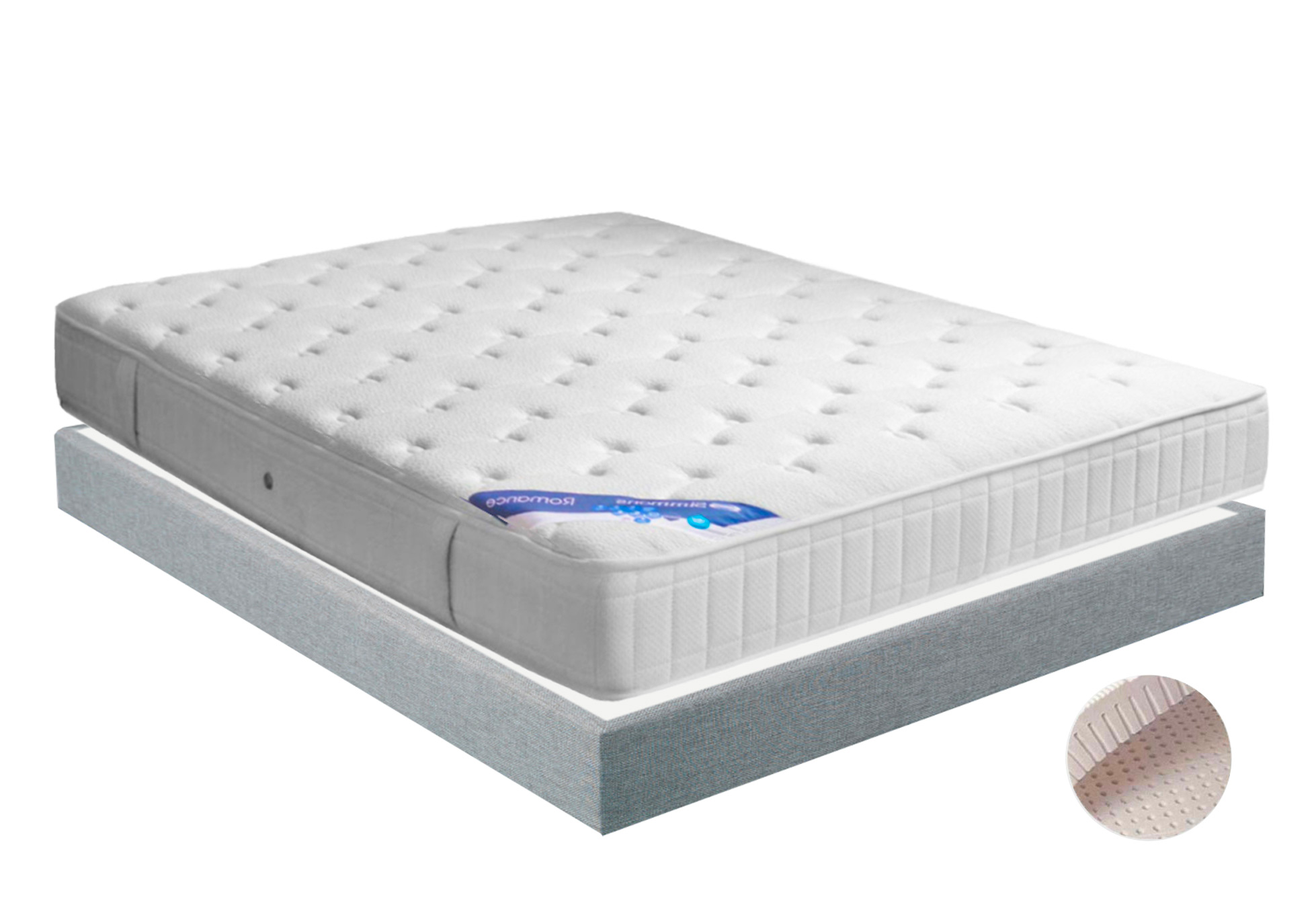 Matelas Ressorts Sommiers Simmons ROMANCE MADISON 15 140x190 (2 pers) ...