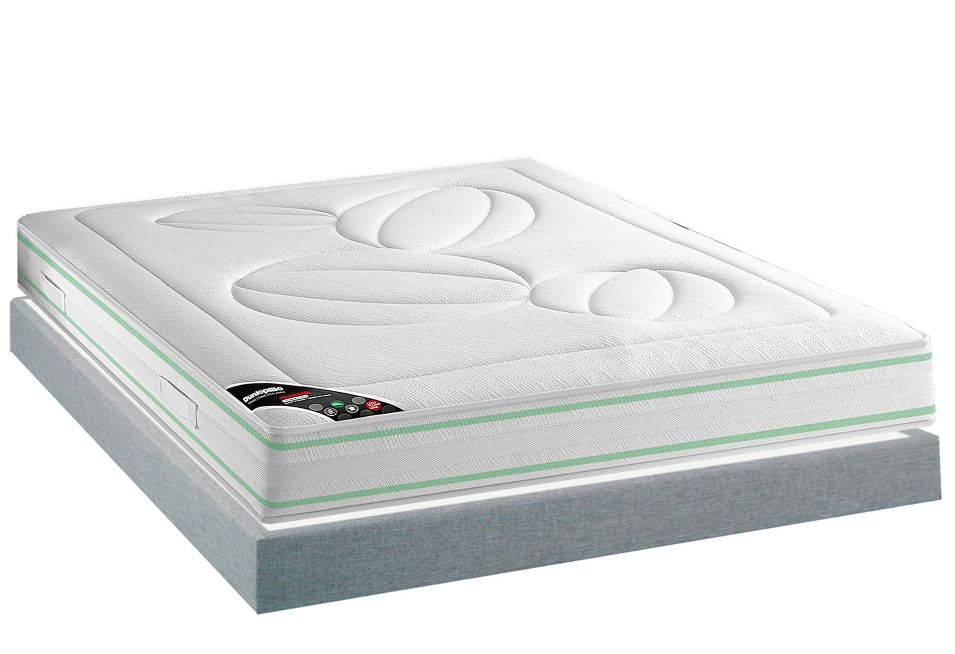 Matelas Latex Sommiers Dunlopillo HEVEANE MADISON 15 140x190 (2 pers) ...