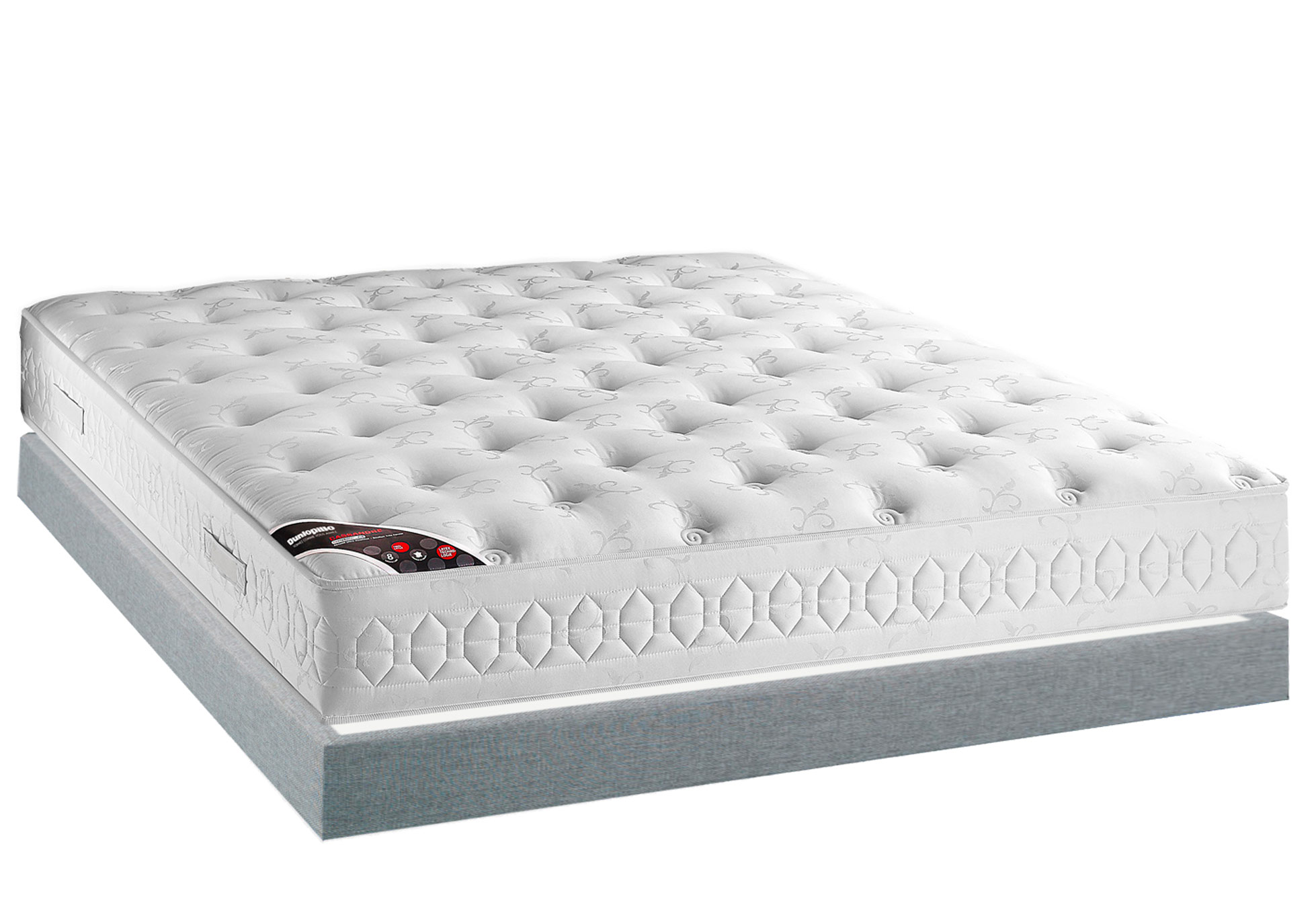 Matelas Latex Sommiers Dunlopillo CASSANDRE MADISON 15 140x190 (2 pers) ...