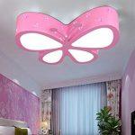Éclairage pour enfants Simple et moderne Plafonnier LED papillon La  créativité Lumières de chambre Lumières de