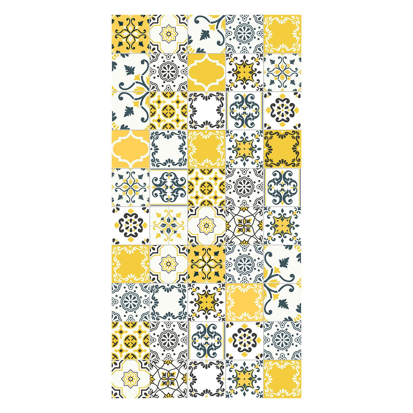 Tapis Imitation Carreaux De Ciment Vinyle tapis carreaux de ciment