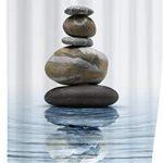 Wenko 20961100 Méditation Rideau de Douche Polyester 180 x 200 cm …