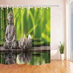 Nyngei Spa Décor Bouddha en méditation avec la gravure de bougie …