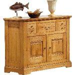 Annonce · Buffet chêne 2 portes 3 tiroirs