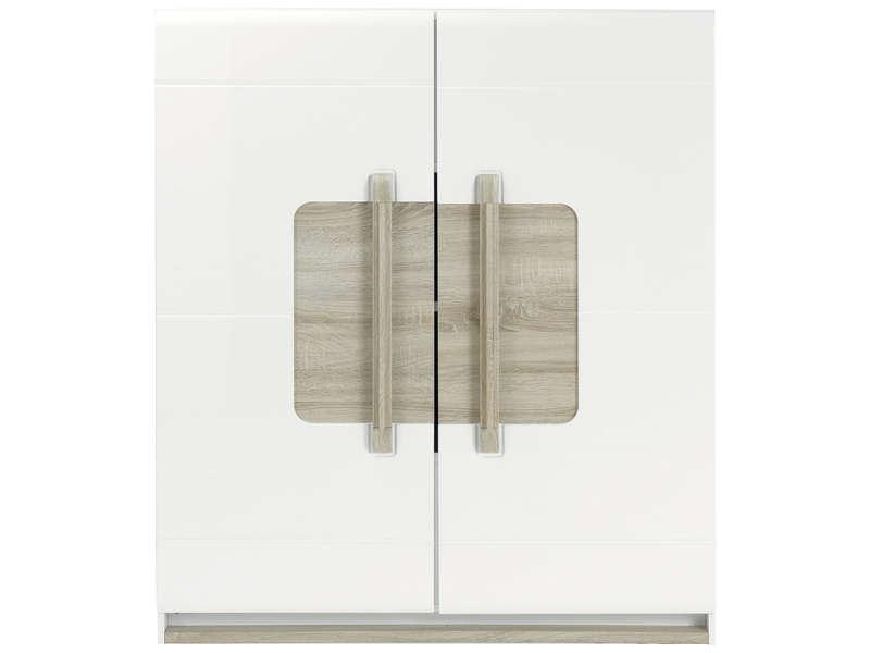Rangement 2 portes LEVI – Vente de Buffet, bahut, vaisselier – Conforama