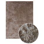 Tapis 160x230 cm DENVER coloris beige - Vente de Tapis salon et chambre -  Conforama