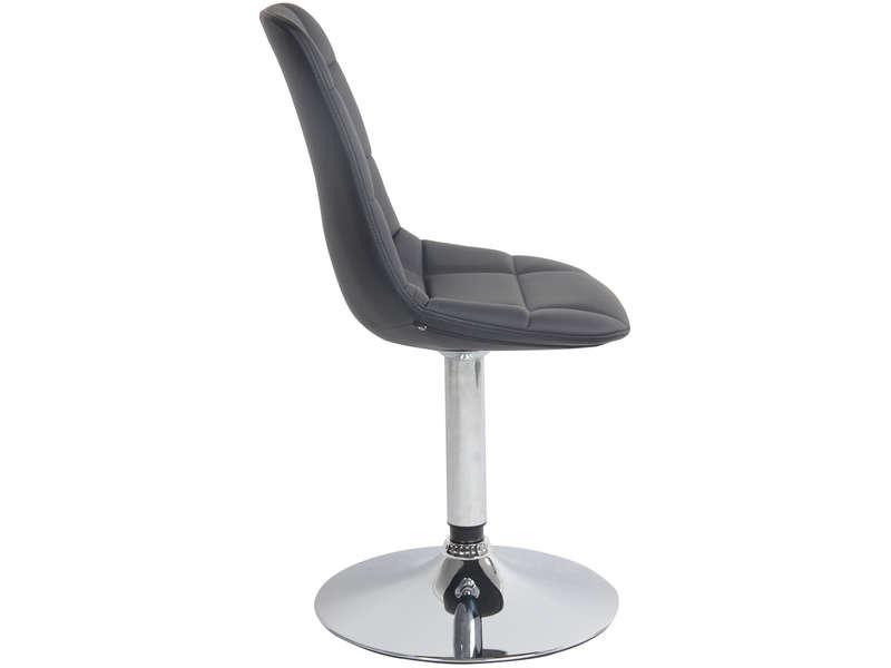 IVY coloris Vente Chaise Chaise Conforama 2 noir de PZlOkXiuTw