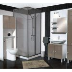 Colonne de salle de bain 2 portes + 1 tiroir L.30 cm SORAMENA …