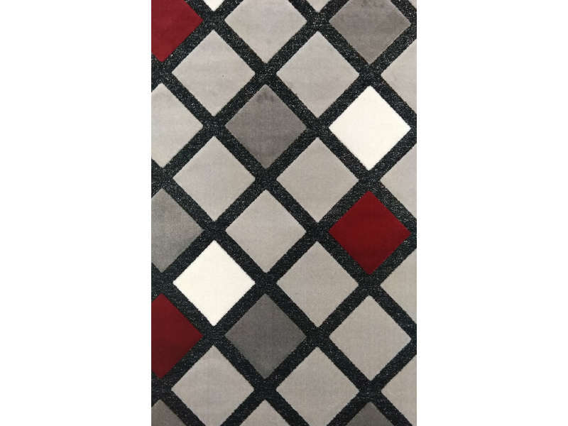 Tapis 120x170 Cm Shiny Losanges Vente De Tapis Salon Et