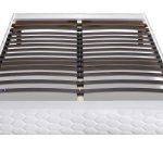 Sommier tapissier 140x190 cm DUNLOPILLO EKIDEN - Vente de Sommier et cadre  à lattes - Conforama