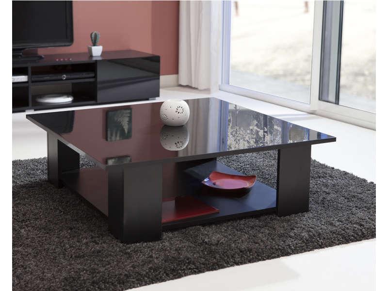 coloris Vente noir basse KIMILAKE carrée Table de et Table m8Nnw0