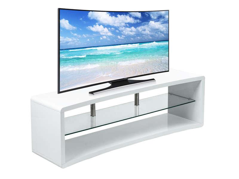 Meuble Tv 140 Cm Curve 2 Vente De Meuble Tv Conforama