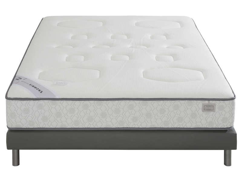Matelas Ressorts 160x200 cm SIMMONS EVASION - Vente de SIMMONS - Conforama