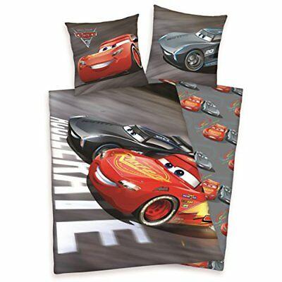 Disney Cars Parure de Lit b/éb/é Housse de Couette Coton