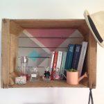 DIY : transfomer une vieille cagette de pommes en étagère | Oui Are …