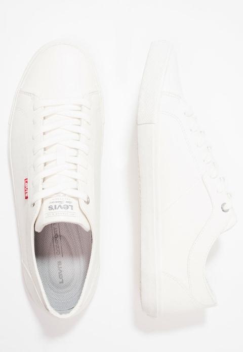 Levi's® WOODS – Baskets basses – brilliant white – ZALANDO.FR