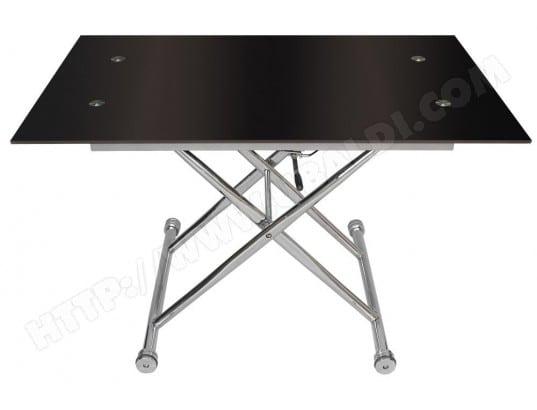 Table basse UB DESIGN LEVITO NOIR Pas Cher | UBALDI.com