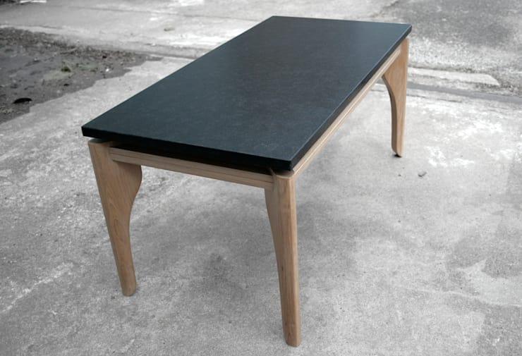 Lévitaa, Table basse Chêne & Granit par Couleur Bois | homify