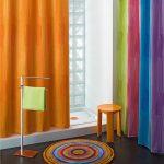 Rideau de douche NATURE Coloris vert prix pas cher en promotion sur …