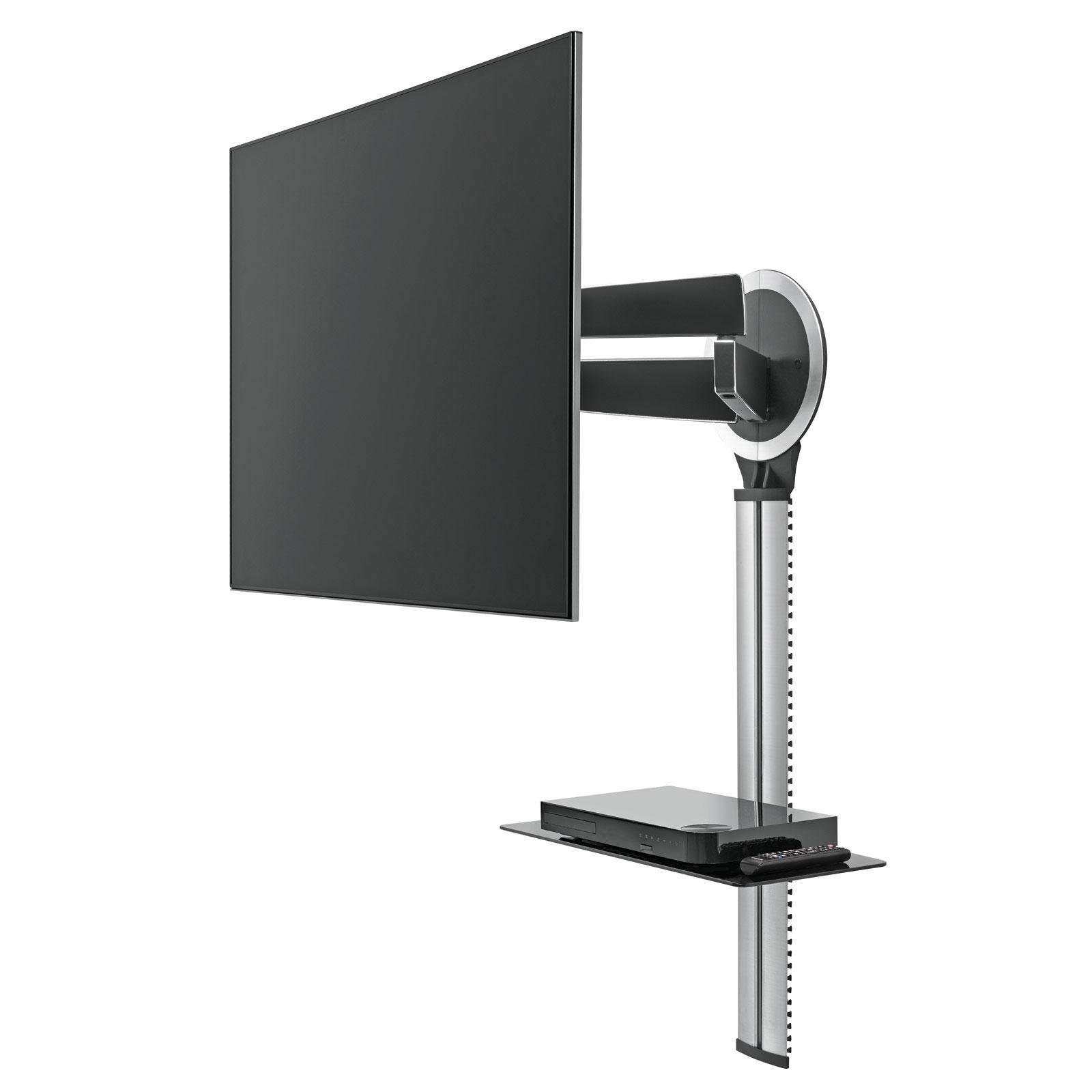 Support Mural Tv Avec Cache Cable Firstcdiscount