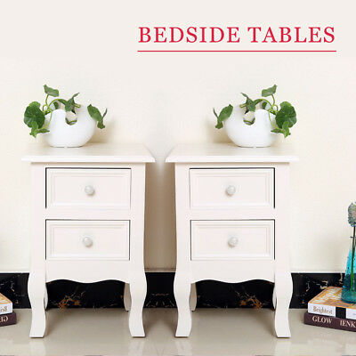 TABLE DE CHEVET meuble rangement chambre à coucher PERLE ...