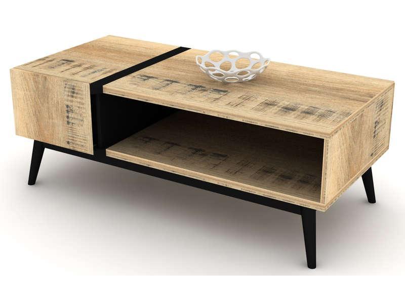 prix Table bicolore VOYAGE bicolore cher basse pas en W2HE9ID