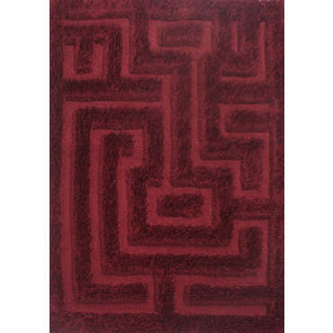 Tapis 160x230 Cm Tafuk Coloris Rouge Vente De Tapis Salon
