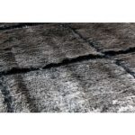 Tapis 160x230 cm grizly coloris noir