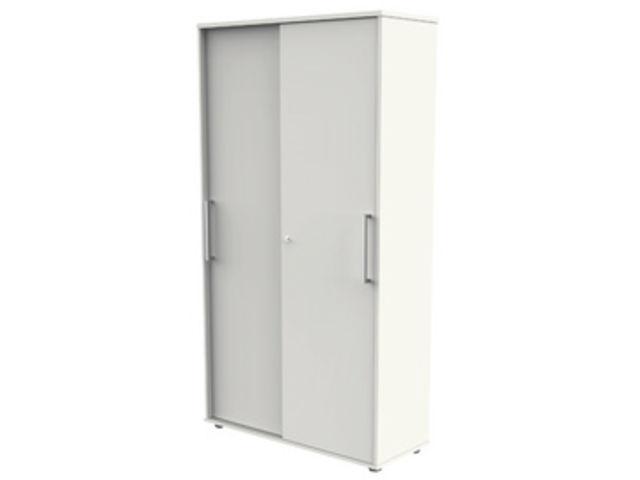 670c6b40b4f06 Armoire basse 2 portes coulissantes avec 2 tablettes   Contact SETAM ...