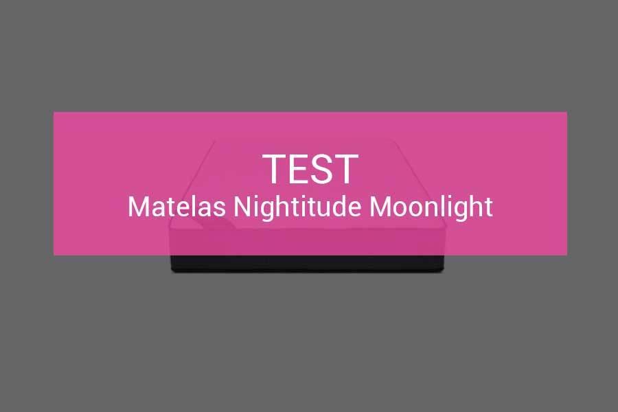 Test et avis matelas Nightitude Moonlight – 600 ressorts pour du 1er …