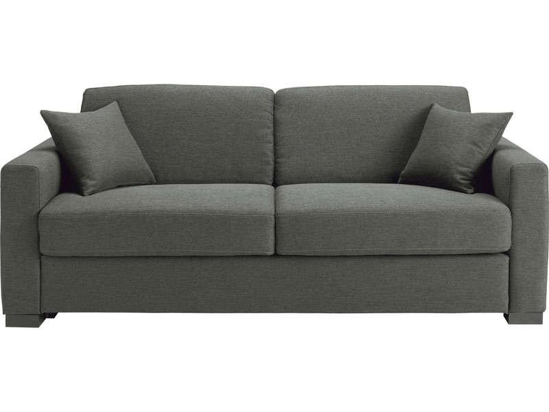 Canapé Convertible 2 5 Places En Tissu Soflit 2 Coloris
