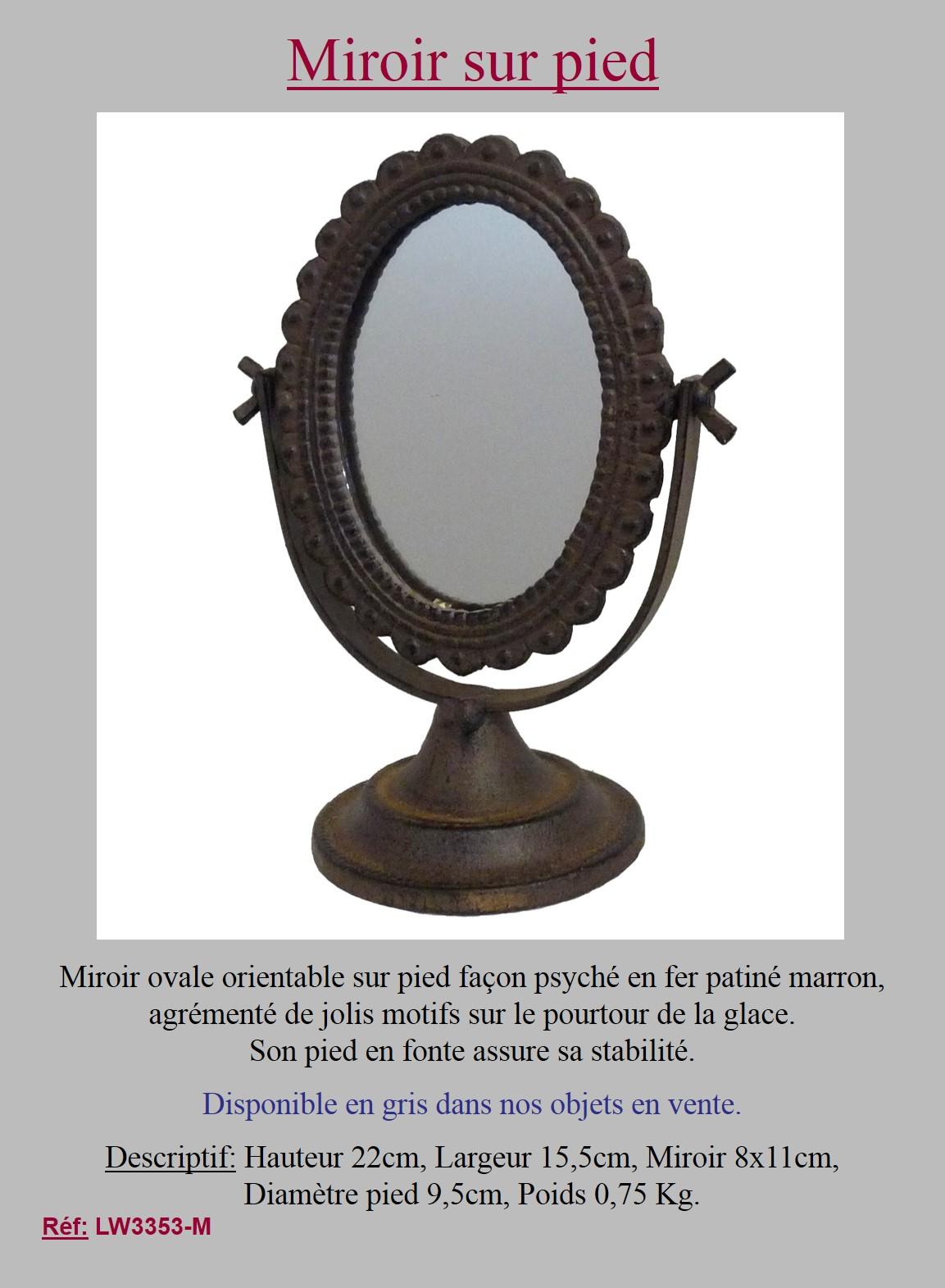Miroir Sur Pied Gifi | Meilleures Idées De Décoration