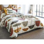 Becquet - Drap motifs ethniques Becquet - Marron - Linge de lit adulte