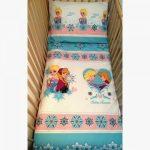 ... La Reine Des Neiges Disney Elsa Anna Parure Lit B B Housse De Avec  16452 Et Couette ...