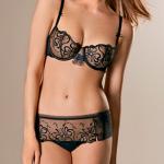 Lingerie Darjeeling Astrid noir – automne/hiver 2013 | Le blog lingerie