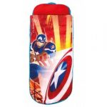 Lit gonflable junior Captain America Avengers - ReadyBed®