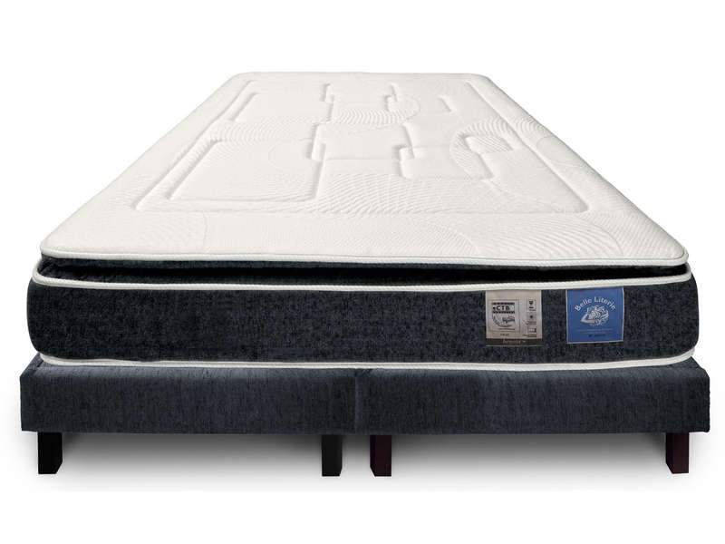 Matelas + Sommier 160X200 Cm Benoist Belle Literie Up To You – Vente …