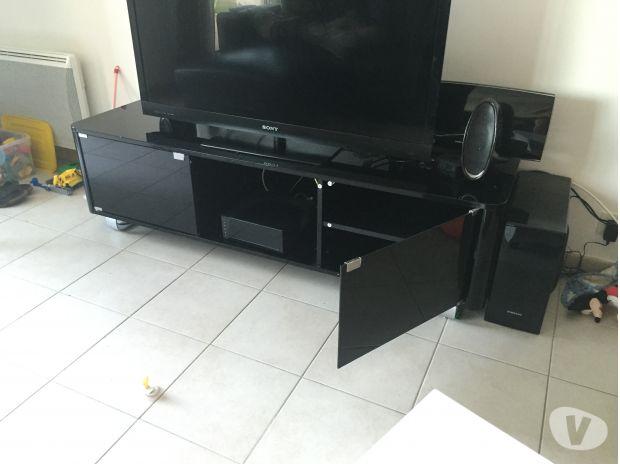 Meuble Tv Bel Air Coloris Noir 2